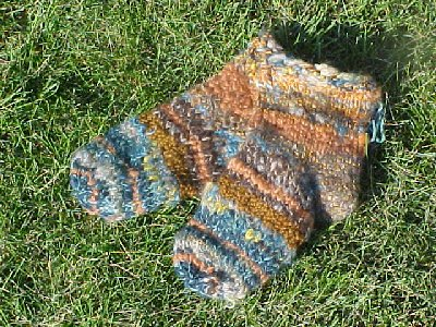 Slipper socks pattern